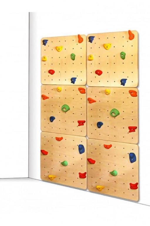 Czy w domu można się wspinać po ściance wspinaczkowej?
